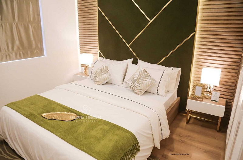 phòng ngủ nhà mẫu căn hộ Lavita Charm