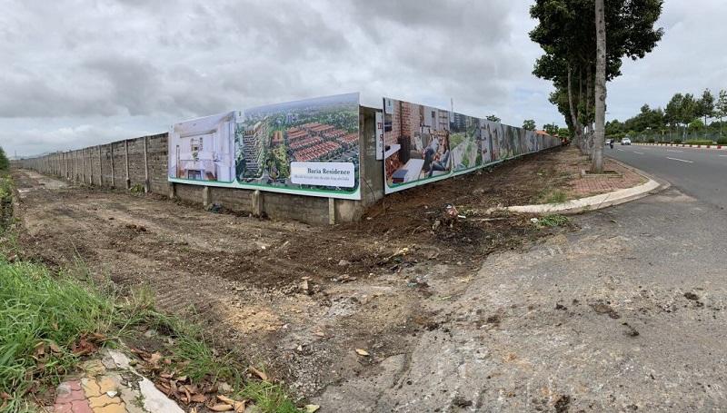 tiến độ dự án Baria Residence