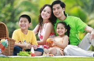 gia đình trẻ chọn mua căn hộ Bcons GARDEN