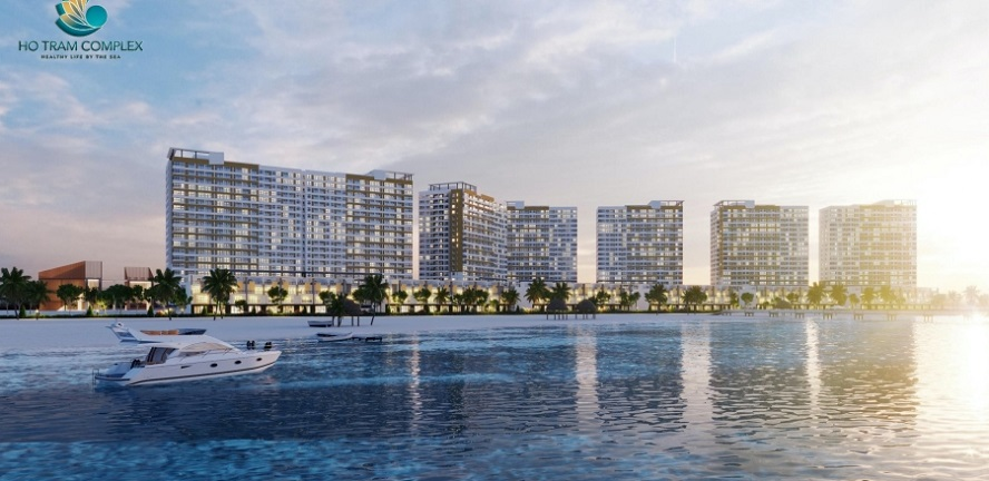 cảnh đẹp tại hồ tràm Complex Hưng Thịnh