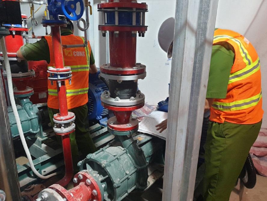 chuẩn phòng cháy chửa cháy tại Bcons Group